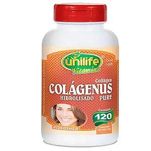 Colágeno Hidrolisado Colágenus 120 cápsulas Unilife