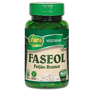 Faseolamina Faseol Feijão Branco 60 cápsulas Unilife
