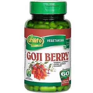 Goji Berry 60 cápsulas Unilife