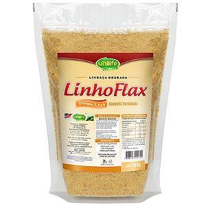 Farinha de Linhaça Dourada Linho Flax 250g Unilife