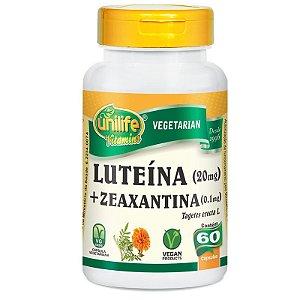 Luteína e Zeaxantina Unilife 60 Cápsulas