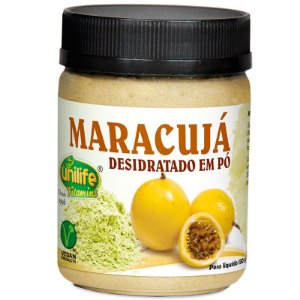 Farinha de Maracujá desidratada em pó 130g Unilife