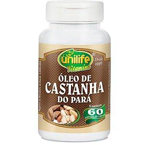 Óleo de Castanha do Pará 60 cápsulas Unilife