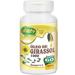 Óleo de Girassol 1200mg 60 cápsulas Unilife