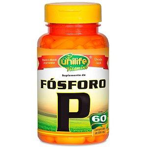 Fosforo Quelato P 60 cápsulas Unilife