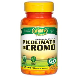 Picolinato de Cromo 60 cápsulas Unilife