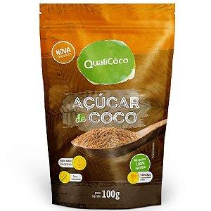 Açúcar de coco 100g natural QualiCôco