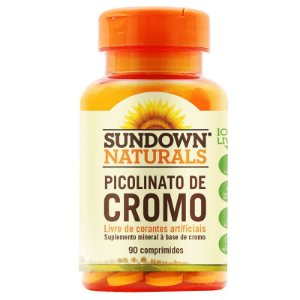 Picolinato de Cromo Sundown 90 comprimidos