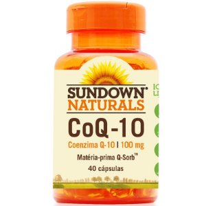Coenzima Q10 100mg Sundown 40 cápsulas