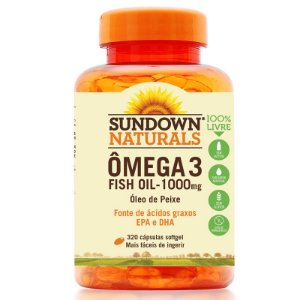 Ômega 3 Fish Oil 1000mg Sundown 320 cápsulas