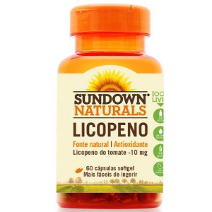 Licopeno 10mg Lycopene Sundown 60 cápsulas