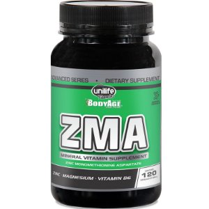 Repositor muscular 600mg Zma Unilife 120 Capsulas