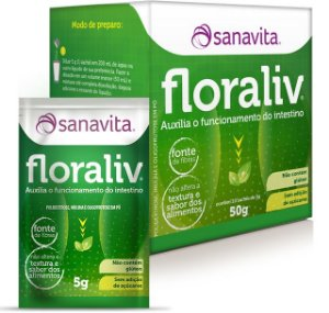 Floraliv Sanavita 10 Sachês 50g