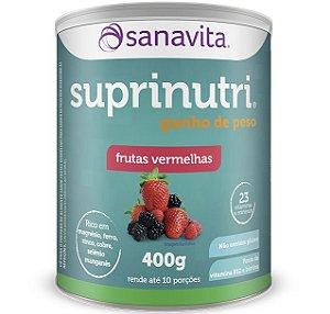 Suprinutri Ganho de Peso Sanavita 400g Frutas Vermelhas