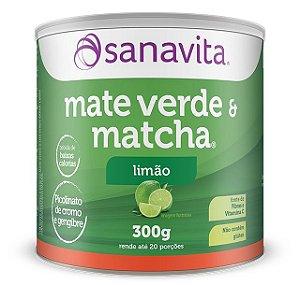 Chá Verde Livre Sanavita 250g Sabor Limão