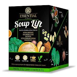 Soup Lift Batata Baroa e Couve Essential Nutrition 10 sachês