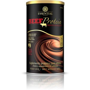 Beef Whey Protein cacau Essential Nutrition 480g