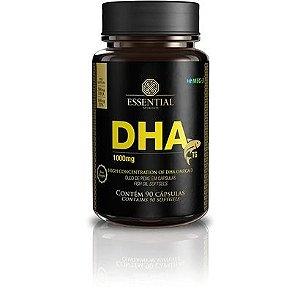 DHA Óleo de Peixe 1000mg Essential Nutrition 90 Cápsulas