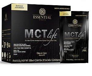 MCT Lift Óleo de Coco Essential Nutrition 20 Sachês