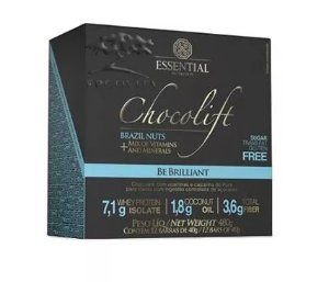 Chocolift Brazil Nuts Essential Nutrition Box 12 Unidades