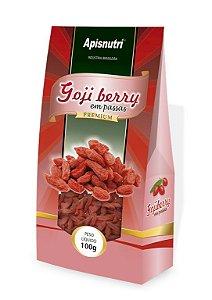 Gojiberry Premium fruta em passas Apisnutri 100g