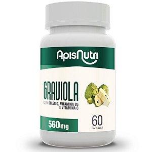 Graviola Apisnutri 60 cápsulas