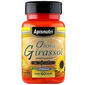 Óleo de Girassol Helianthus Apisnutri 60 cápsulas