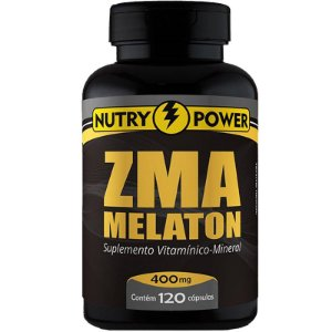 Repositor muscular Zma Nutry Power 120 cápsulas