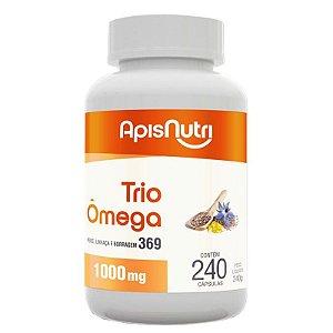 Trio Omega 3, 6 e 9 Apisnutri 1000mg 240 cápsulas