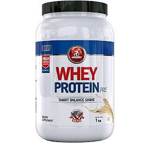 Whey Protein Pre Midway 1Kg Baunilha