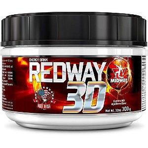 Redway 3d Pré Treino Midway 300g