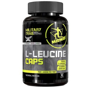 L-Leucine Midway 90 caps Military Trail
