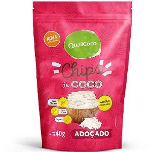 Chips de coco 40g Quali Adoçado.
