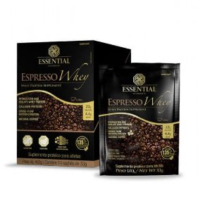 Espresso Whey Protein Essential Nutrition Sachê 14 x 33g