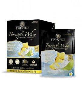 Pineapple Whey Protein Essential Nutrition Sachê 15 x 30g