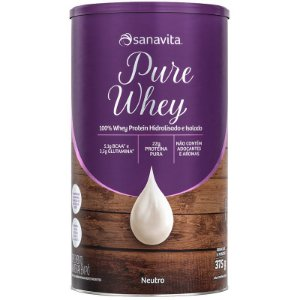 Whey Protein 100% H.I Sanavita Neutro 375g