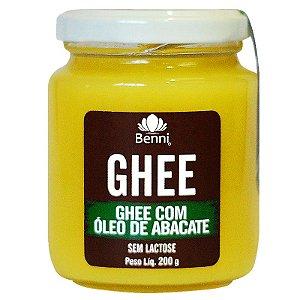 Manteiga GHEE com Óleo de Abacate 200g Benni