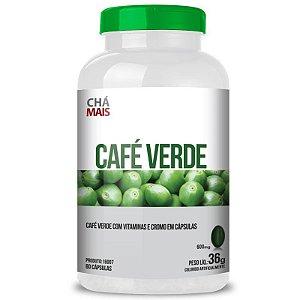 Café Verde com Vitamina C Chá Mais 60 cápsulas