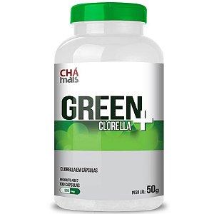 Clorella Green 500mg Chá Mais 100 cápsulas