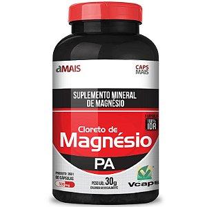 Cloreto de Magnésio 500mg Chá Mais 60 cápsulas