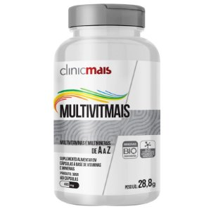 Multimais Polivitaminico 550mg Chá Mais 120 cápsulas