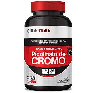 Picolinato de Cromo 500mg Chá Mais 60 cápsulas
