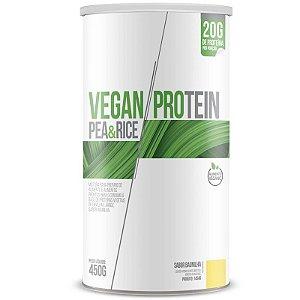Vegan Protein Pea & Rice Chá Mais 450g Baunilha
