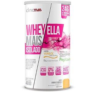 Whey Protein Isolado Ella 27g Revitá 400g Banana Flambada
