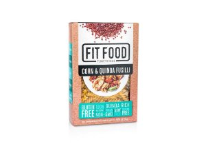 Massa Milho c/ Quinoa s/ Gluten Fusilli 250g FIT FOOD