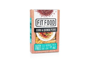 Massa Milho c/ Quinoa s/ Gluten Penne 250g FIT FOOD