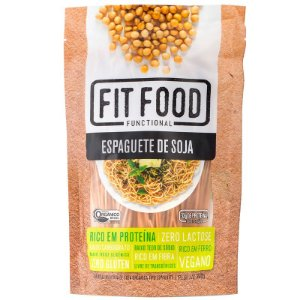 Espaguete de Soja 200g FIT FOOD