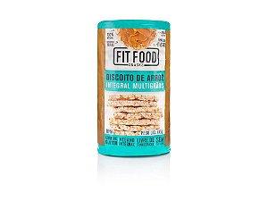 Biscoito de Arroz Multigrãos 100g FIT FOOD