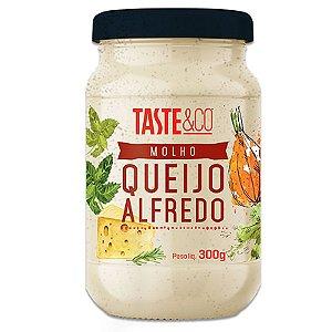 Molho de Queijo Alfredo 300g TASTE & Co