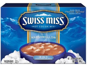 Achocolatado c/ Marshmallow 280g (c/10 envel) SWISS MISS